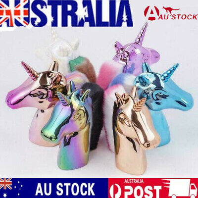 AU11.99 • Buy Unicorn Horse Makeup Brushes Color Synthetic Hair Face Cosmetic Powder Brush DS