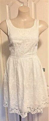 AU15 • Buy FOREVER NEW Cotton Dress Size 6