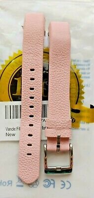AU16.64 • Buy NEW Replacement Band For Fitbit ALTA Pink Leather Wristband With Buckle Vancle