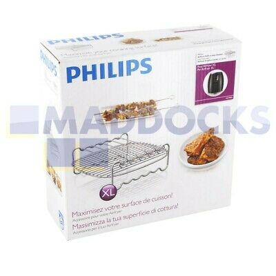 AU72.49 • Buy Philips HD9240XL HD9240 Series Avance Collection Airfryer Double Layer Accessory