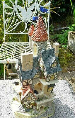 £80 • Buy Rare Early David Winter - Castle In The Air - Superbly Modelled Fantasy - 1991