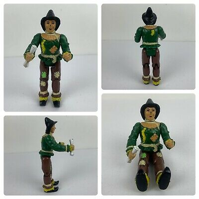 £10.90 • Buy Vintage Scarecrow Action Figure Wizard Of Oz Toy 3.75  Mgm 1988 With Diploma Toy