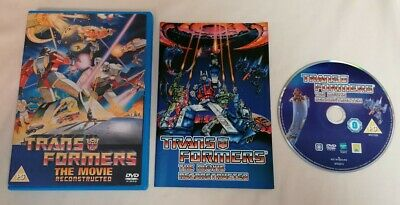 £3 • Buy DVD - Transformers The Movie Reconstructed 1 Disc DVD Animated PAL UK R2