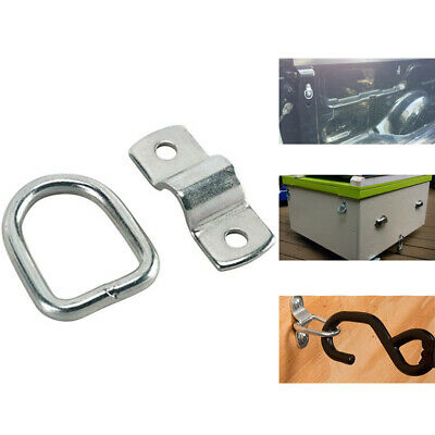 AU21.95 • Buy 6x D-Ring Tie Down Anchor Stainless Steel Trailer Tie Downs Bracket Mounting AU