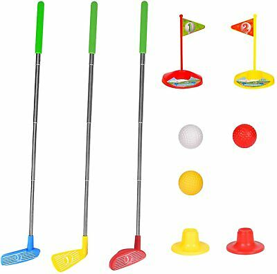 AU20.99 • Buy Kids Golf Play Set Mini Golf Club Set Retractable Early Educational Outdoor Toy