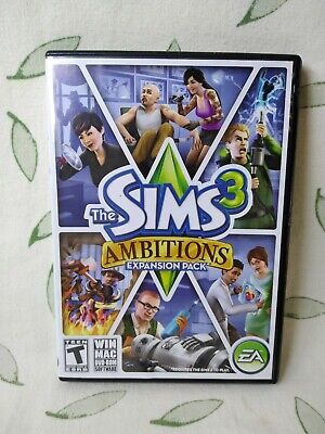 £5.08 • Buy The Sims 3 Ambitions PC Game Complete 2010 Expansion Pack