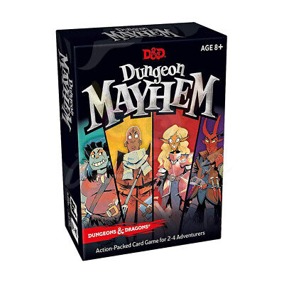 AU18.50 • Buy AU Stock Dungeon Mayhem Dungeons & Dragons Card Board Game 2–4 Players 120 Cards