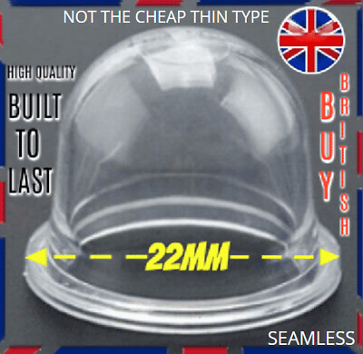 £4.97 • Buy 22mm Primer Bulb McCulloch Petrol Strimmer Chainsaw Blower Trimmer FREE Post