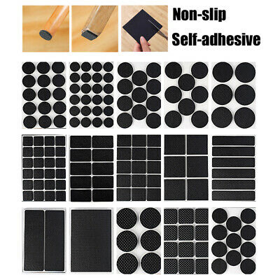 £2.98 • Buy Self Adhesive Furniture Pads Grippers Non Slip Rubber Feet Chair Table Leg Pad