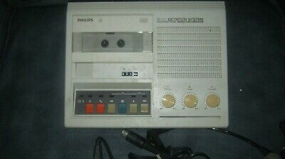 £24.99 • Buy PHILIPS 510 Dictation Machine Complete Set With One New Tape GWO Tested