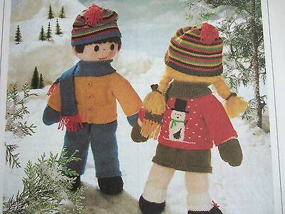 £4.60 • Buy Jean Greenhowe Toy / Doll Knitting Pattern For Boy & Girl Dolls & Clothes