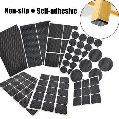 £2.99 • Buy Non Slip Rubber Pads Floor Protector Furniture Feet Self Adhesive Sticky Back UK
