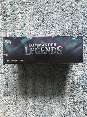 £110 • Buy Magic The Gathering (MTG) Commander Legends Draft Booster Box Factory Sealed Eng
