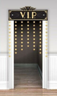£7.95 • Buy VIP Decorative Door Curtain Party Prom Or Event Decoration - New & Sealed