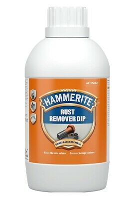 £10.61 • Buy Hammerite Rust Remover Dip - 500 ML Makes 10 Times The Initial Volume