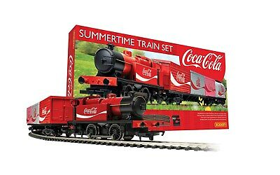 £109.95 • Buy HORNBY R1276M Coca Cola Summertime Electric Train Set NEW