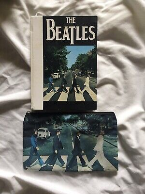 £18.19 • Buy Beatles Abbey Road Notebook And Pencil Bag