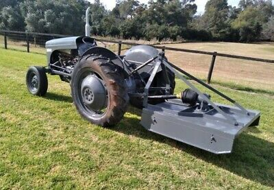 AU5850 • Buy TEA20 Ferguson Tractor Reconditioned With Accessories(slasher And Carryall)