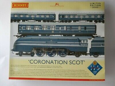 £190 • Buy Hornby R3092  Coronation Scot  Dcc Ready Pack Mint/boxed Looks New