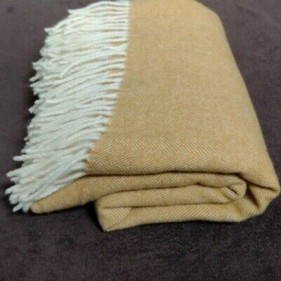 £40 • Buy Linea Emmenti Cashmere Wool Blend Throw From Italy, BNWOT, Gorgeously Soft