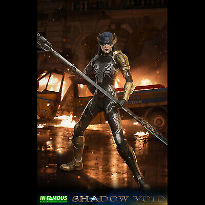 £155.66 • Buy IN-FAMOUS IF002 1/6 Scale The Shadow Void Collectible Action Figure Model Toys