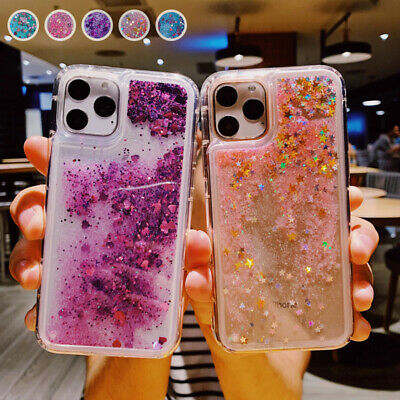 AU7.29 • Buy Case For IPhone 12 11 Pro Max XR 6s 7 8 Shockproof Silicone Liquid Glitter Cover