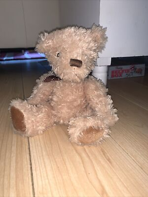 £7 • Buy The Cuddle Crew Asda Beige Teddy Bear With Brown Ribbon Approx 8