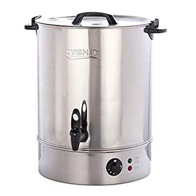 £79.99 • Buy Cygnet 30L Manual Fill Urn 2.5kW Stainless Steel For Catering Events Tea 03538