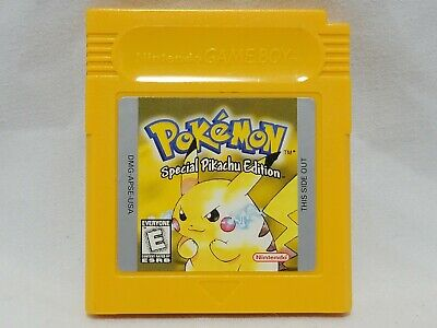 $63.95 • Buy Pokemon Yellow Pikachu Nintendo GameBoy Color AUTHENTIC Game W/ Working Save