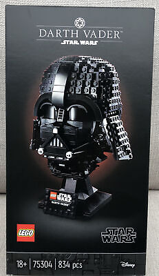 £54.99 • Buy 75304 Collectible LEGO Star Wars Darth Vader Helmet *BRAND NEW* FREE DELIVERY