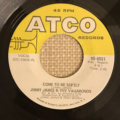 £12.99 • Buy Jimmy James & The Vagabonds - Come To Me Softly - Atco