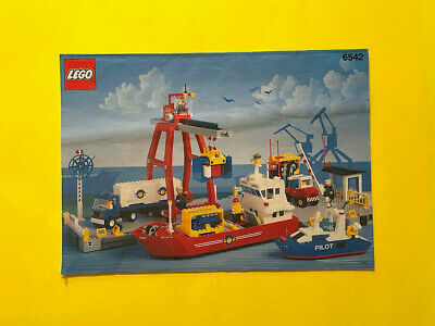 £22.49 • Buy LEGO 6542 Launch & Load Seaport  INSTRUCTION ONLY No Bricks Harbor Calssic Town