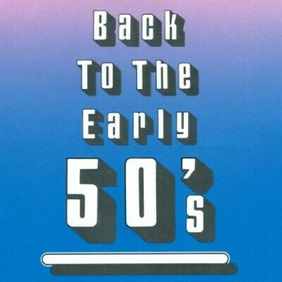 £4.36 • Buy Back To The Early 50's - Music CD - Various Artists -  1991-09-11 - K-Tel - Very