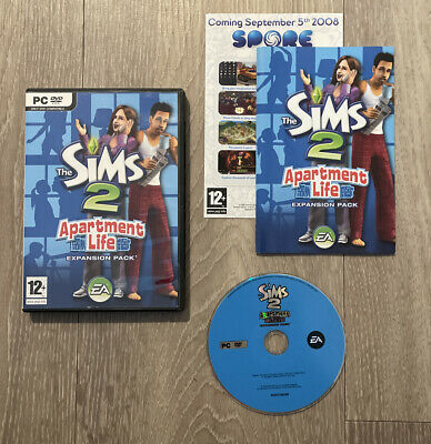 £12.49 • Buy The Sims 2: Apartment Life (PC DVD ROM) Expansion