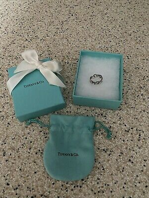 £145 • Buy Tiffany And Co Paloma Picasso Loving Heart Ring  Size M