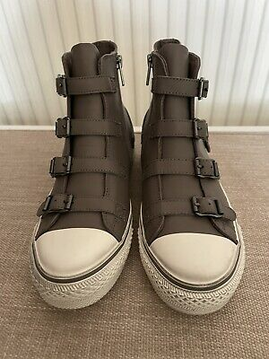 £100 • Buy Ash High Top Trainer Boots Size 4
