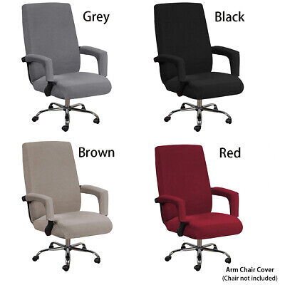 AU21.95 • Buy Stretch Swivel Computer Chair Cover Slipcovers Desk Seat Cover Protector Office.