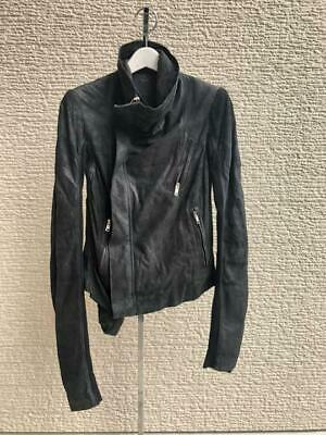 £580.39 • Buy Rick Owens Lamb Leather Riders Jacket Blouson 13AW Black Women's 38 From Japan