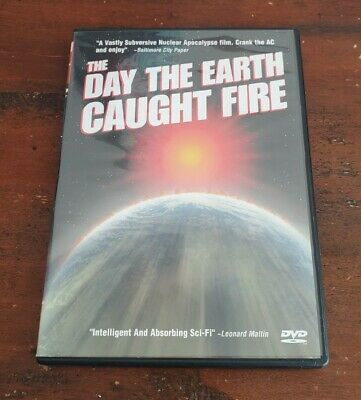 £10.23 • Buy The Day The Earth Caught Fire DVD (1961) Val Guest Sci-Fi Anchor Bay US Region 1