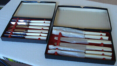 £10.95 • Buy 2 X 6 Pieces Viners Of Sheffield Stainless Steel Cutlery In Original Boxes