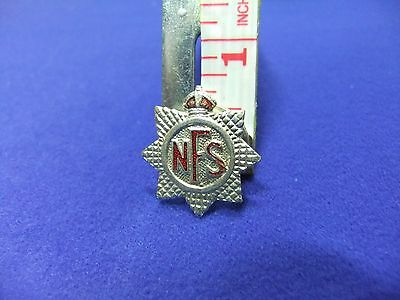 £9 • Buy Ww Badge Nfs National Fire Service Ww2 Home Front War Effort Defence Air Raid