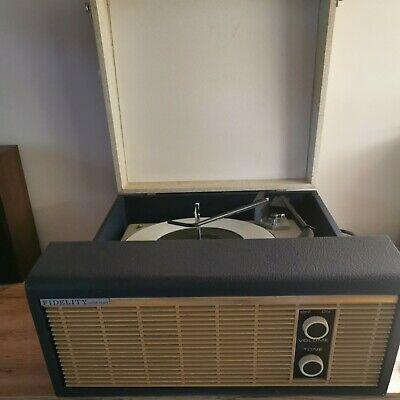 £30 • Buy Vintage Fidelity Solid State Record Player