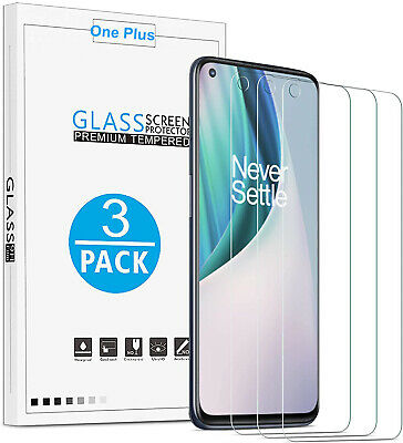 AU9.33 • Buy [3-Pack] Tempered Glass Screen Protector For OnePlus Nord N10 5G / N100 / N200