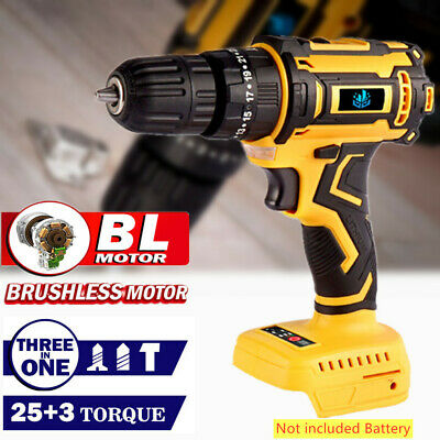 £29.99 • Buy 18V Cordless Impact Drill Brushless Driver Torque Replace For Makita Battery UK