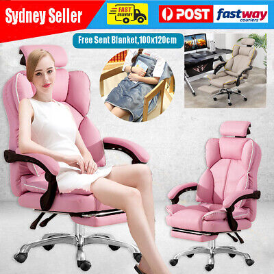 AU179.66 • Buy 2021 Racing Gaming Office Chair Executive Computer High Back Chair Seat Recliner