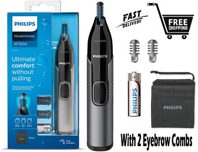 AU32.99 • Buy Philips Series 3000 Nose Ear Eyebrow Hair Trimmer Shaver/Comb Washable NT3650/16