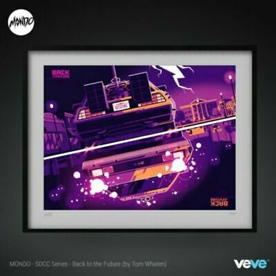 £1000 • Buy VEVE - Back To The Future (by Tom Whalen) -  Rare - #1581 - NFT - CON EXCLUSIVE