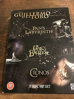 £3.29 • Buy Guillermo Del Toro Collection (Pan's Labyrinth, Cronos, The Devil... - DVD  V0VG