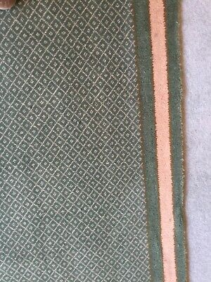 £55 • Buy  6 Sq Yards Green Brintons Carpet From Areghi Bianchi Cost £65 Per Square Metre
