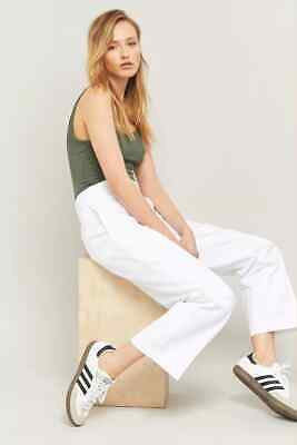 £29.99 • Buy URBAN OUTFITTERS Dickies Original 874 White Cropped Work Trousers W30 BNWT £55